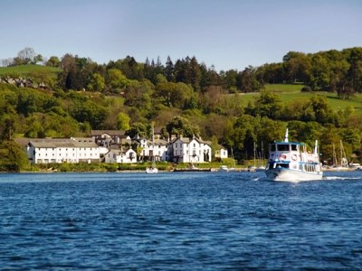 exterior view - hotel low wood bay - windermere, united kingdom