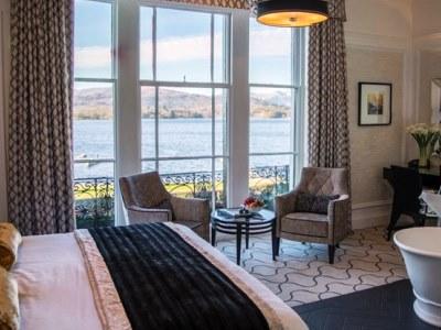 bedroom - hotel low wood bay - windermere, united kingdom