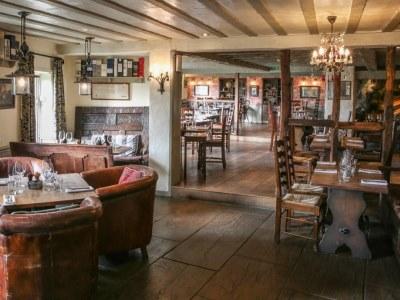restaurant - hotel wild boar - windermere, united kingdom