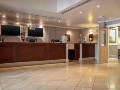lobby - hotel hilton york - york, united kingdom