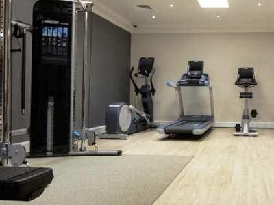 gym - hotel hilton york - york, united kingdom