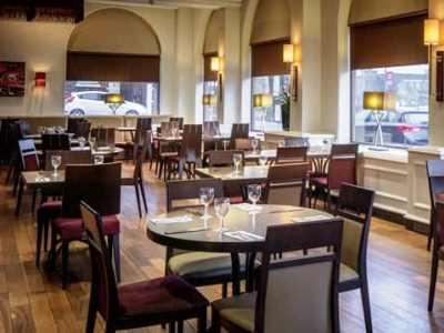 restaurant - hotel hilton york - york, united kingdom