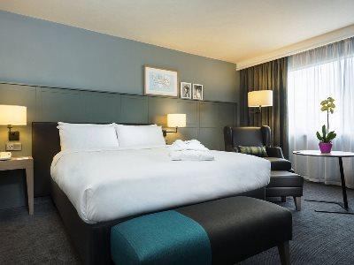 bedroom - hotel holiday inn london-heathrow m4 jct 4 - heathrow airport, united kingdom