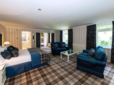 bedroom - hotel lakeside - newby bridge, united kingdom