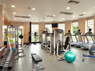 gym - hotel hilton puckrup hall - tewkesbury, united kingdom