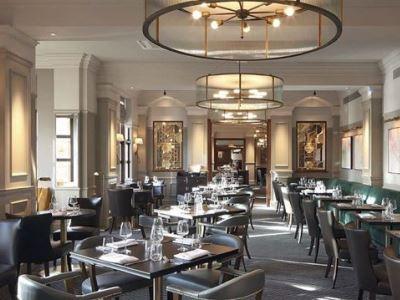 restaurant - hotel hilton puckrup hall - tewkesbury, united kingdom