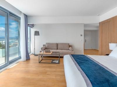 bedroom 2 - hotel glyfada riviera - athens, greece