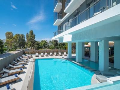 outdoor pool - hotel glyfada riviera - athens, greece