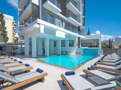 outdoor pool 1 - hotel glyfada riviera - athens, greece