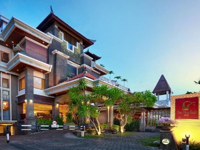 exterior view - hotel vira bali boutique hotel and suite - bali island, indonesia