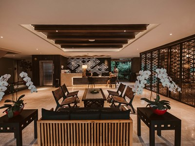 lobby - hotel vira bali boutique hotel and suite - bali island, indonesia