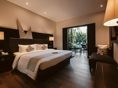 bedroom 2 - hotel vira bali boutique hotel and suite - bali island, indonesia