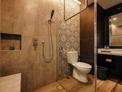 bathroom - hotel vira bali boutique hotel and suite - bali island, indonesia
