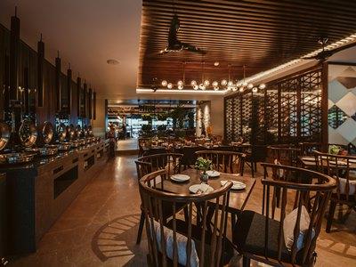 restaurant 1 - hotel vira bali boutique hotel and suite - bali island, indonesia