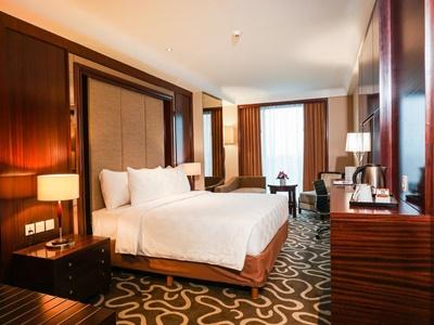bedroom - hotel swiss-belhotel serpong - tangerang, indonesia