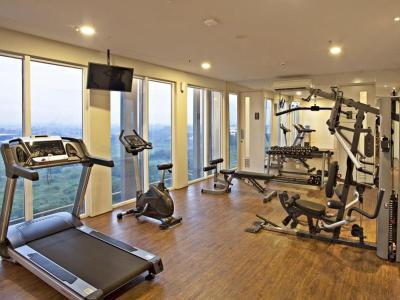 gym - hotel swiss-belinn cikarang - cikarang, indonesia