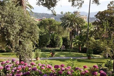 gardens - hotel grand hotel miramare - santa margherita ligure, italy