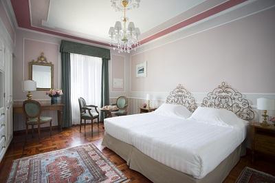 deluxe room 1 - hotel grand hotel miramare - santa margherita ligure, italy