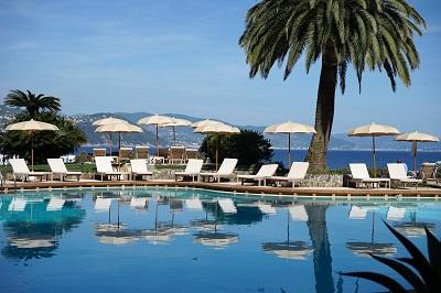 outdoor pool - hotel grand hotel miramare - santa margherita ligure, italy