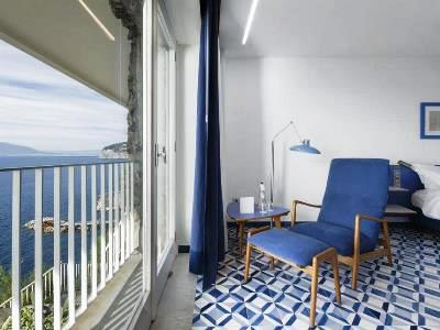bedroom 5 - hotel parco dei principi - sorrento, italy