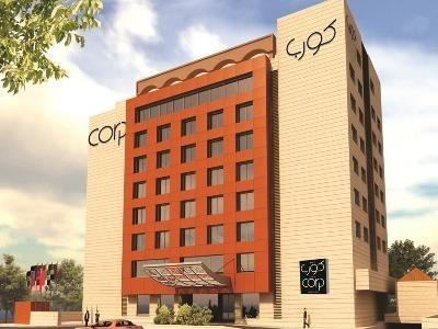 exterior view - hotel corp amman - amman, jordan