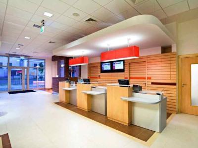 lobby - hotel ibis kaunas centre - kaunas, lithuania