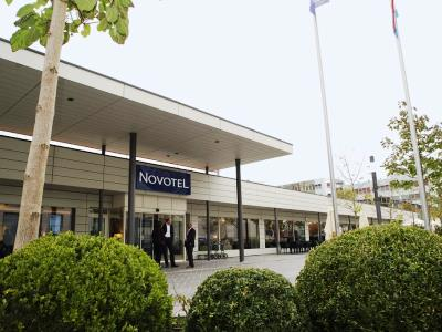 exterior view - hotel novotel kirchberg - luxembourg, luxembourg