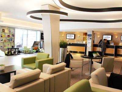 lobby - hotel novotel kirchberg - luxembourg, luxembourg
