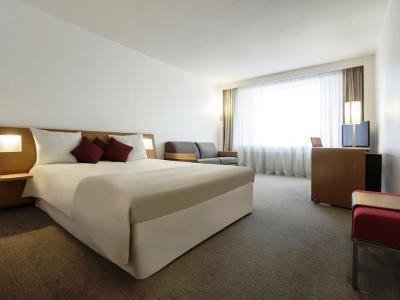 bedroom 1 - hotel novotel kirchberg - luxembourg, luxembourg