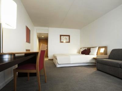 bedroom 2 - hotel novotel kirchberg - luxembourg, luxembourg