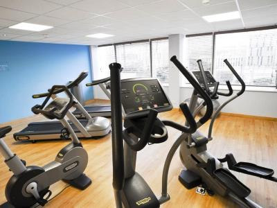 gym - hotel novotel kirchberg - luxembourg, luxembourg