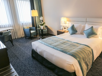 bedroom - hotel le royal - luxembourg, luxembourg