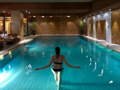 indoor pool - hotel le royal - luxembourg, luxembourg