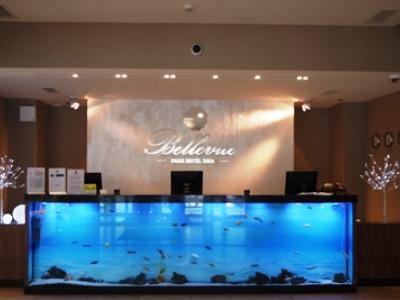 lobby - hotel bellevue park riga - riga, latvia