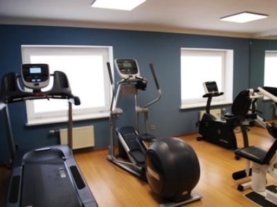 gym - hotel bellevue park riga - riga, latvia
