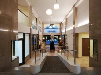 lobby - hotel holiday inn centro historico guadalajara - guadalajara, mexico