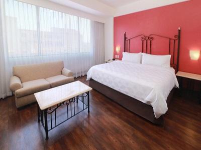bedroom - hotel holiday inn centro historico guadalajara - guadalajara, mexico