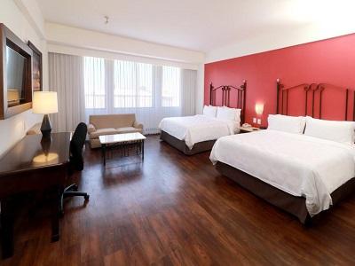 bedroom 1 - hotel holiday inn centro historico guadalajara - guadalajara, mexico