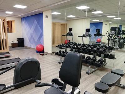 gym - hotel holiday inn centro historico guadalajara - guadalajara, mexico