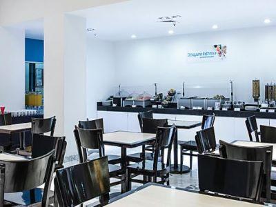 breakfast room - hotel holiday inn express guaymas - guaymas, mexico