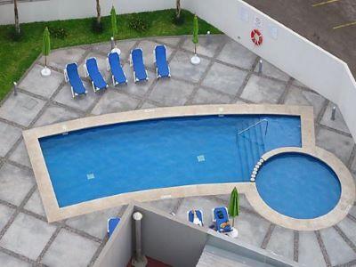 outdoor pool - hotel holiday inn express guaymas - guaymas, mexico