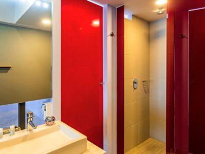 bathroom - hotel ibis styles merida galerias - merida, mexico