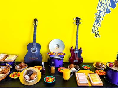 breakfast room - hotel ibis styles merida galerias - merida, mexico