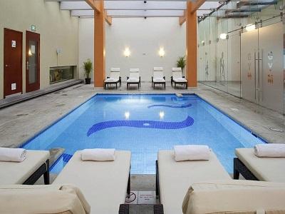 indoor pool - hotel holiday inn orizaba - orizaba, mexico
