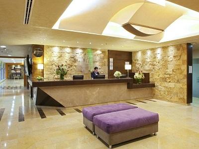 lobby - hotel holiday inn orizaba - orizaba, mexico