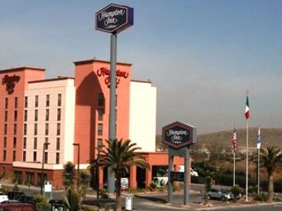 exterior view - hotel hampton inn saltillo airport area - saltillo, mexico