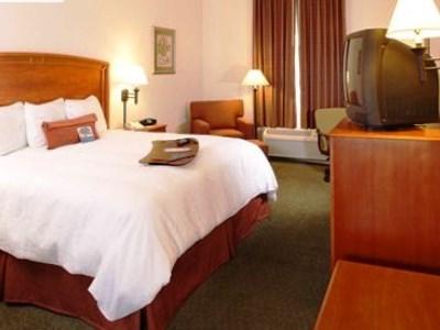 bedroom - hotel hampton inn saltillo airport area - saltillo, mexico