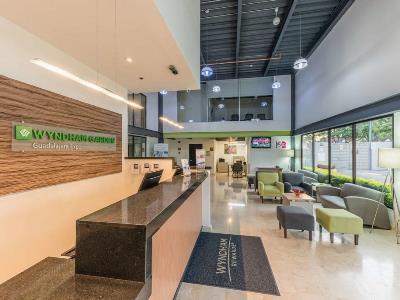 lobby - hotel wyndham garden guadalajara expo - zapopan, mexico