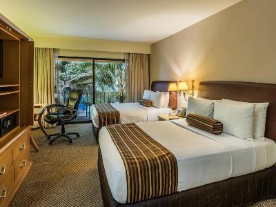 bedroom 1 - hotel wyndham garden guadalajara expo - zapopan, mexico