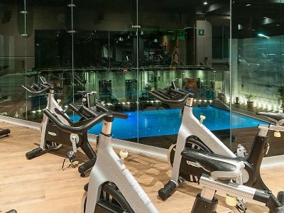 gym - hotel holiday inn mexico buenavista - mexico city, mexico